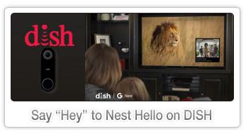Google Nest Hello on DISH