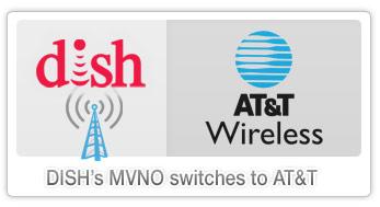 DISH swaps MVNO to AT&T